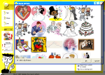 Add images from the clipart library